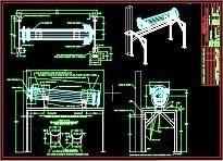 0026 - 1994 - Intercambiador de calor de aceite soporte